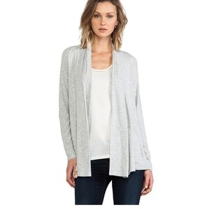 Theory Kalalyn K Rib Viscose Cardigan